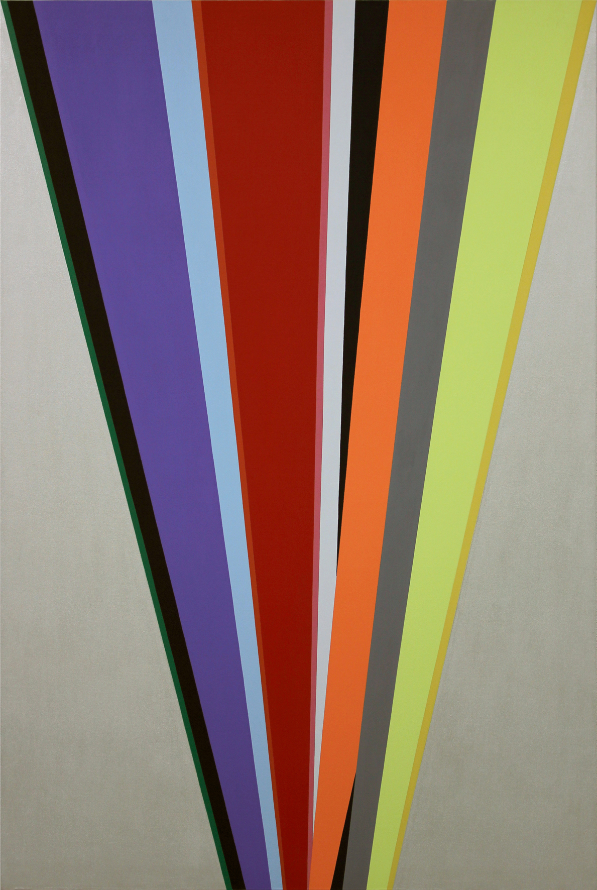 Memorias Imaginadas, 2012, acrílico sobre lienzo, 195 x 130 cm.