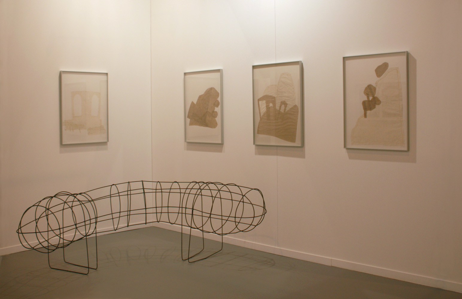 Installation view of the Galeria Maior stand in ARCOmadrid, 2014