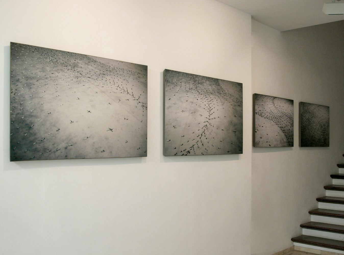 Exhibition view Escombrar in the Galeria Maior of Pollença, 2009