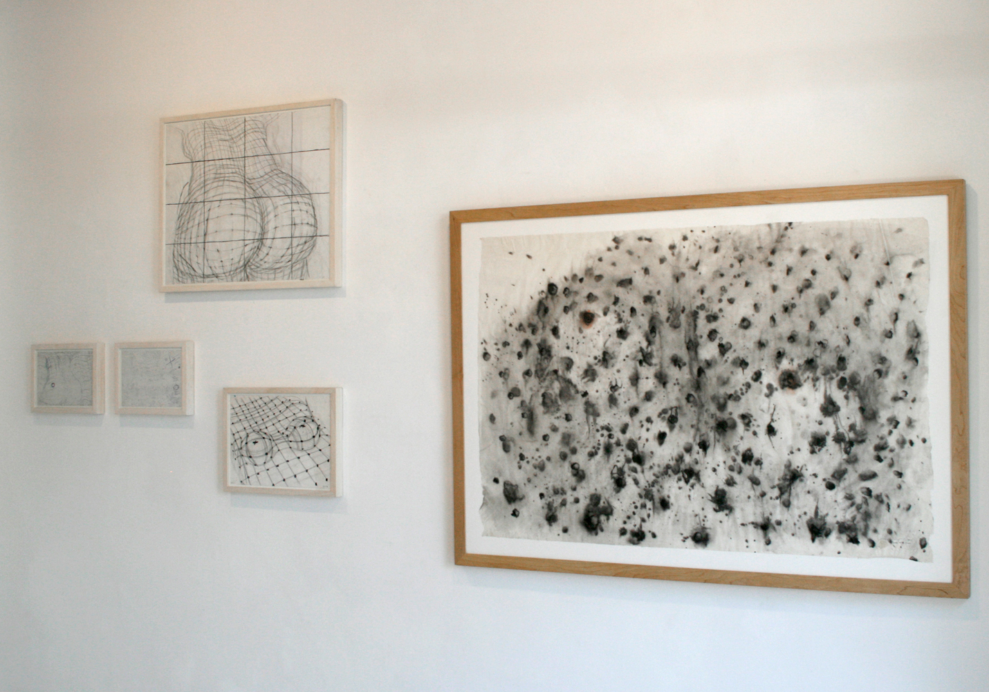 Tintas. El melic del mon, from the exhibition Escombrar, Galería Maior Pollença, 2009