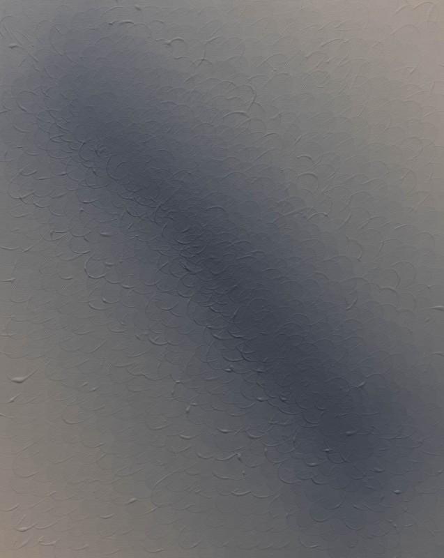 S/T #5, 2017, acrilico sobre lienzo, 50 x 40 cm.