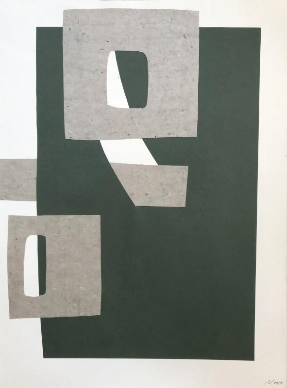 Sin t�tulo, 2017, collage, 75,5 x 56,5 cm.