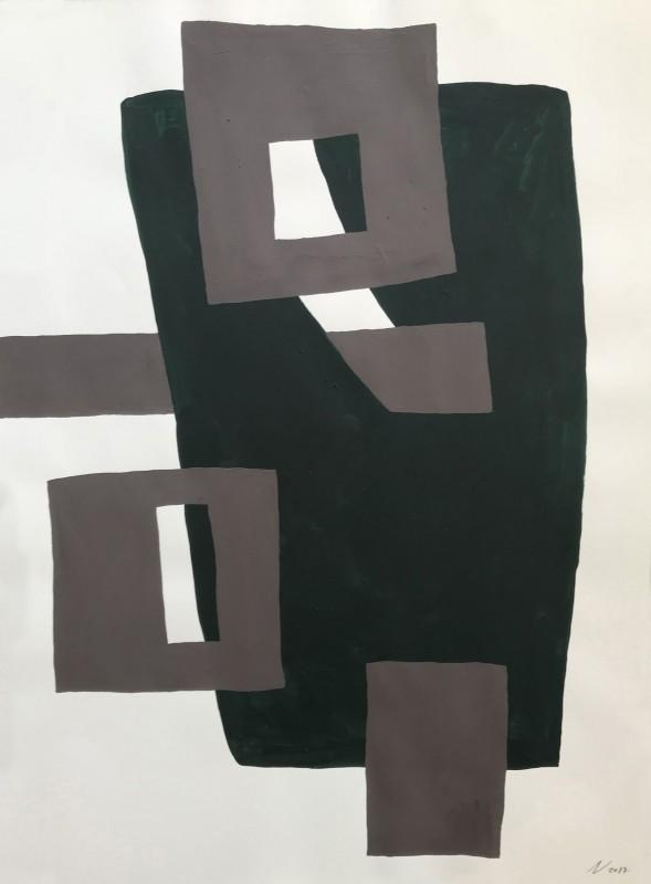 Sin t�tulo, 2017, acrilico, 75,5 x 56,5 cm.