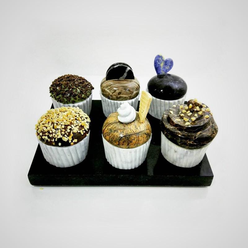 Cupcakes, 2017, m�rmol