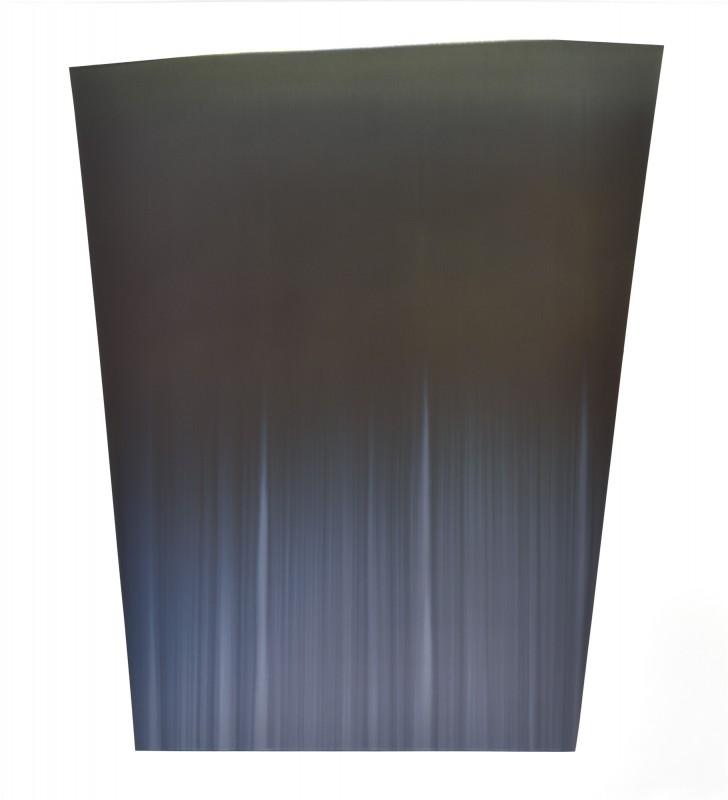 CCCXXI, 2016, tinta sobre papel, 145,5 x 132,5 cm.