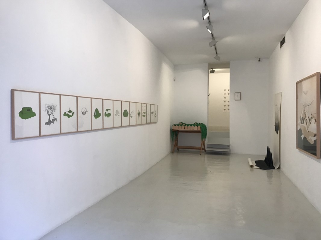 Vista de la exposicion en Palma, 2017