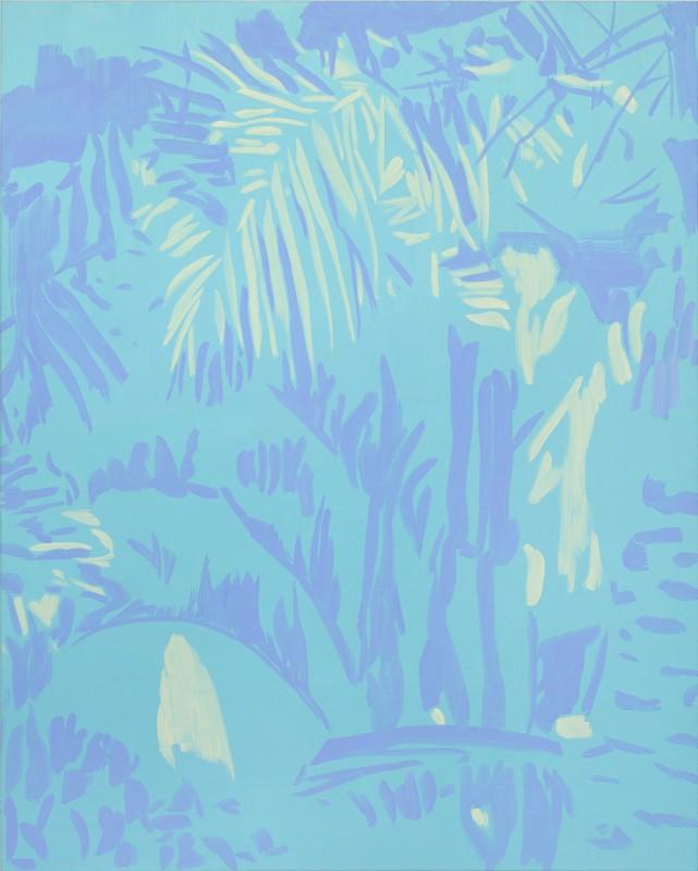 Sin titulo, 2018, acrilico sobre lienzo, 150 x 120 cm.