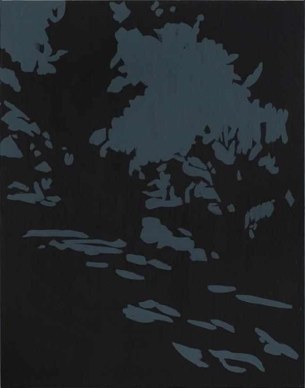 Untitled, 2018, acrylic on canvas, 100 x 80 cm.