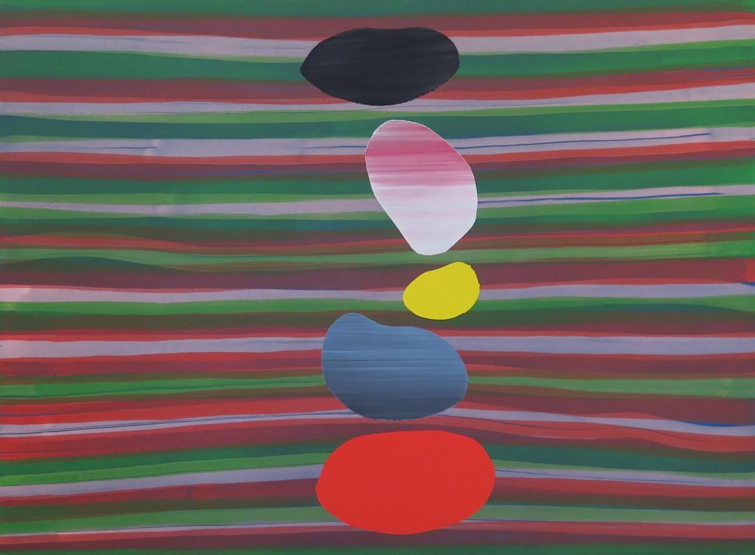 Otros Universos Dos, 2017, acrylic on canvas, 150 x 200 cm.