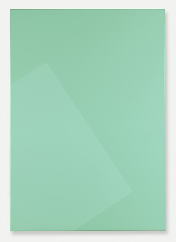 Light Green, 2015 Acrylic on canvas 100 x 70 cm w