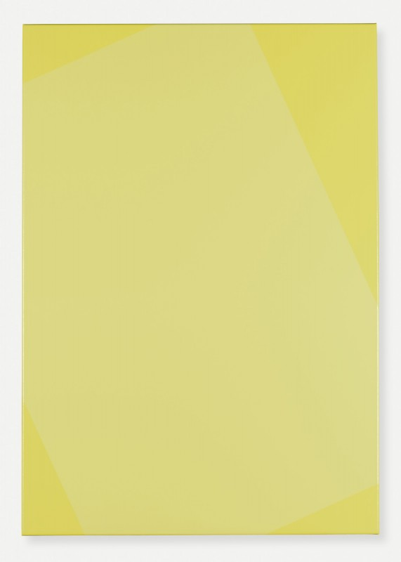 Lemon Yellow, 2015 Acrylic on canvas 100 x 70 cm