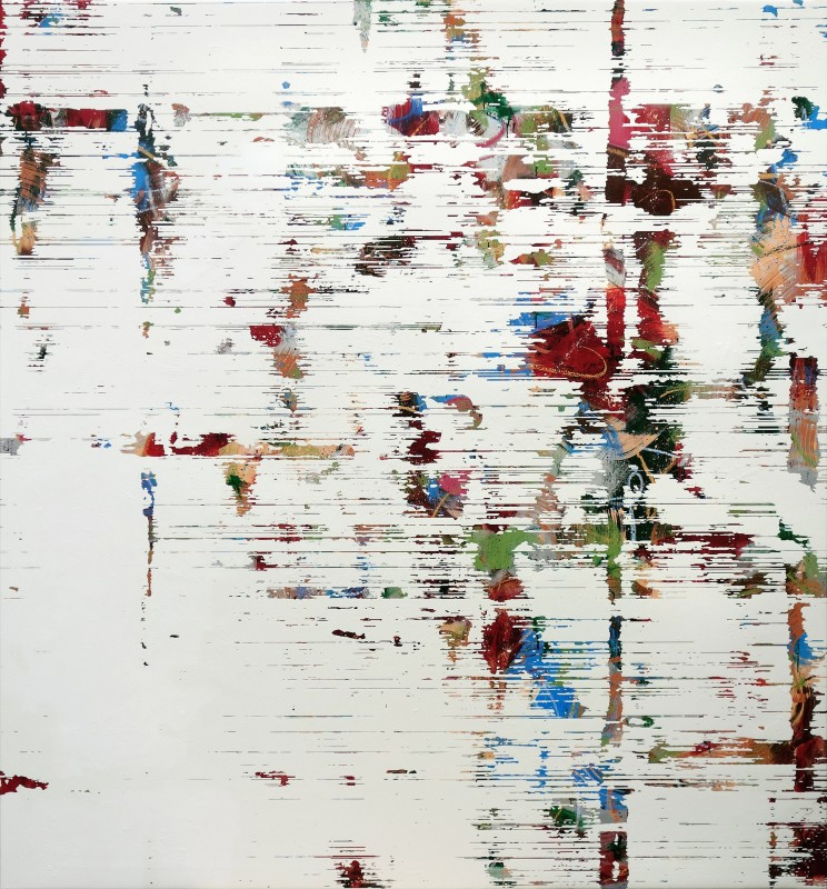 Wall #9, 2019, oil on canvas, 200 x 185 cm.