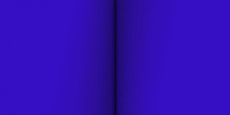 Blue Deneb, 2009, acrilico sobre lienzo, 100 x 200 cm.