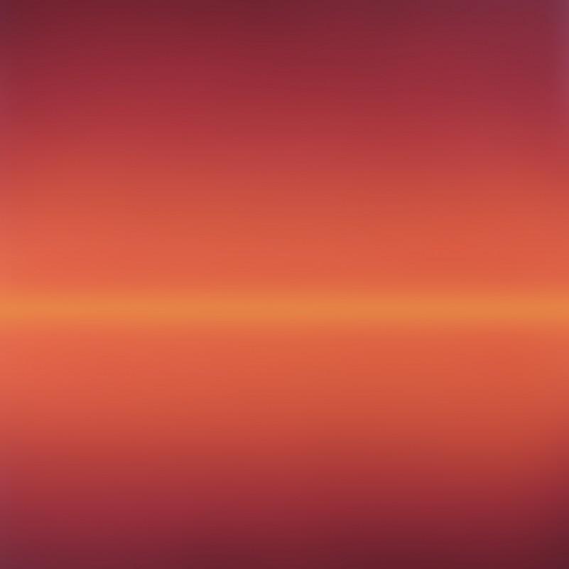 Horizon, 2009, acrilico sobre lienzo, 170 x 170 cm.