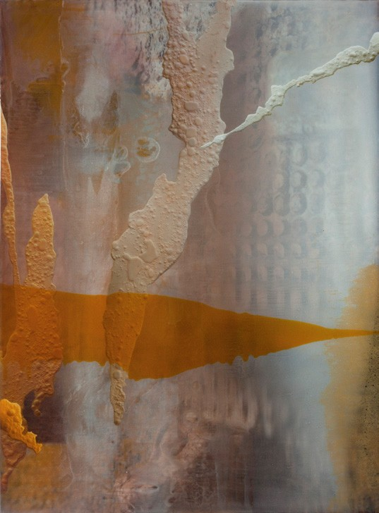 Dario Urzay, Frost frame-pin, 2018, t�cnica mixta /resina dibond, 150 x 110 cm.