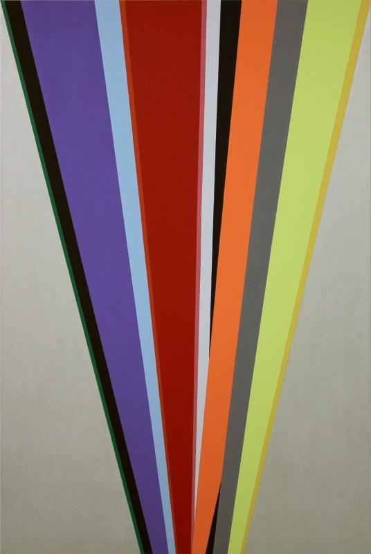 Memorias Imaginadas, 2012, acrilico sobre lienzo, 195 x 130 cm.