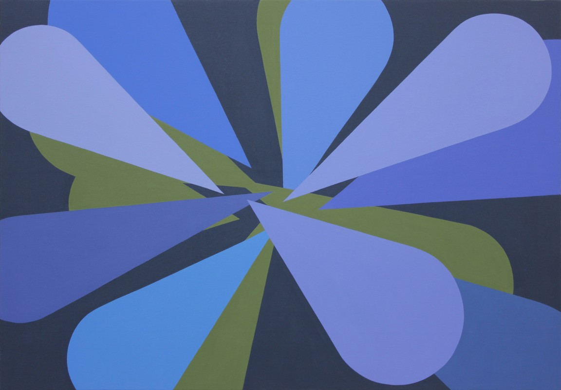 Memorias Imaginadas, 2014, acrylic on canvas, 89 x 130 cm.