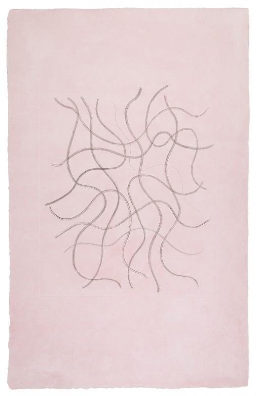 Campano. Serie Erotica, 1995-97, aguatinta, 86 x 55 cm.