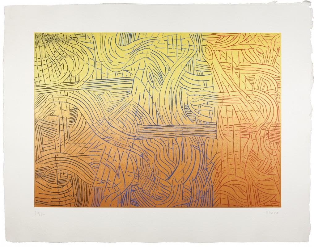 Broto. S/T, 1997, aguafuerte, 87 x 110 cm.