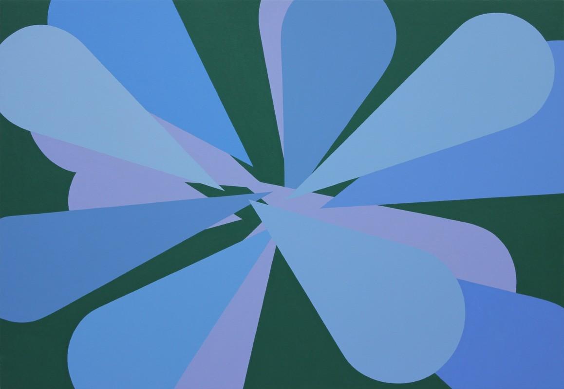 Mitsuo Miura. Memorias Imaginadas, 2014. Acrilico sobre lienzo, 89 x 130 cm.
