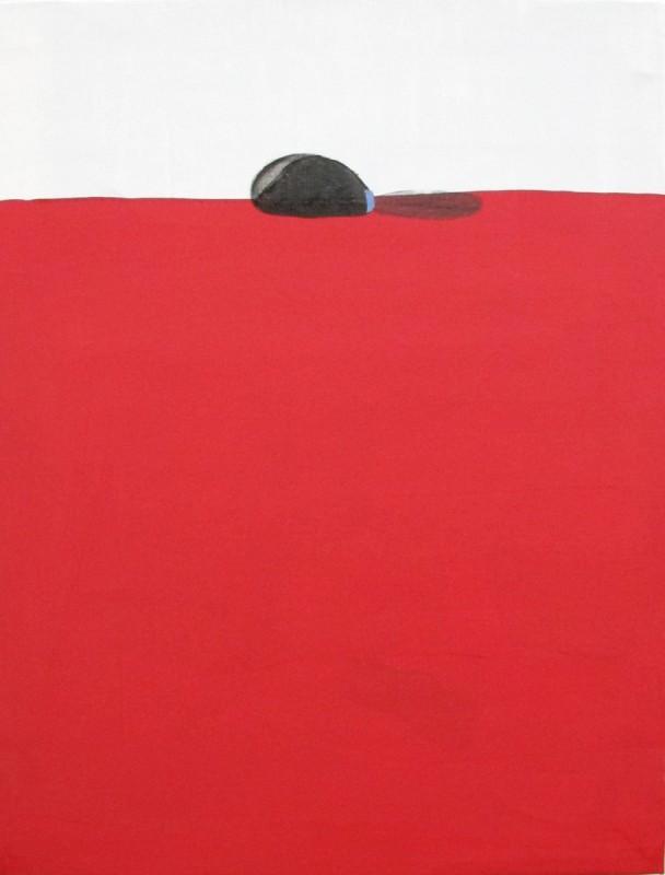 Victoria Civera. Horizonte pezon, 2011. mixta/lienzo, 80 x 61 cm.