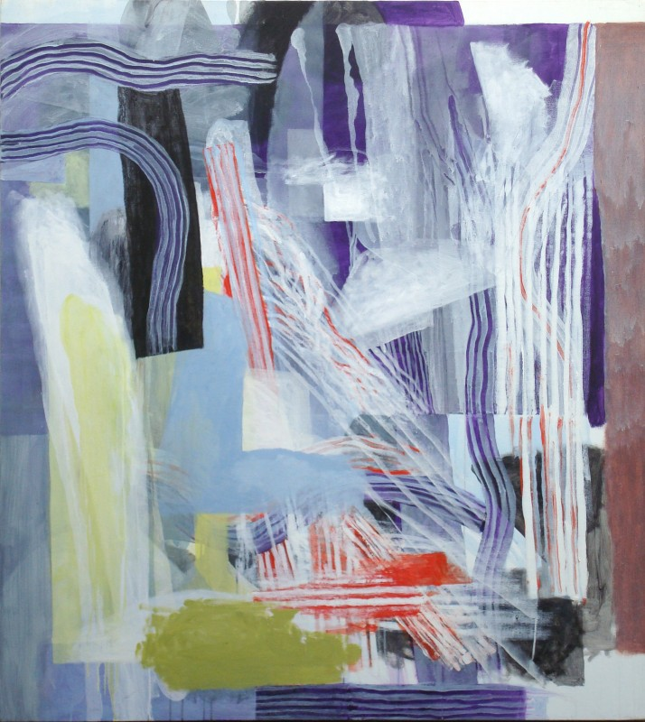 Sin titulo, 2000, acrilico sobre lienzo, 150 x 135 cm.