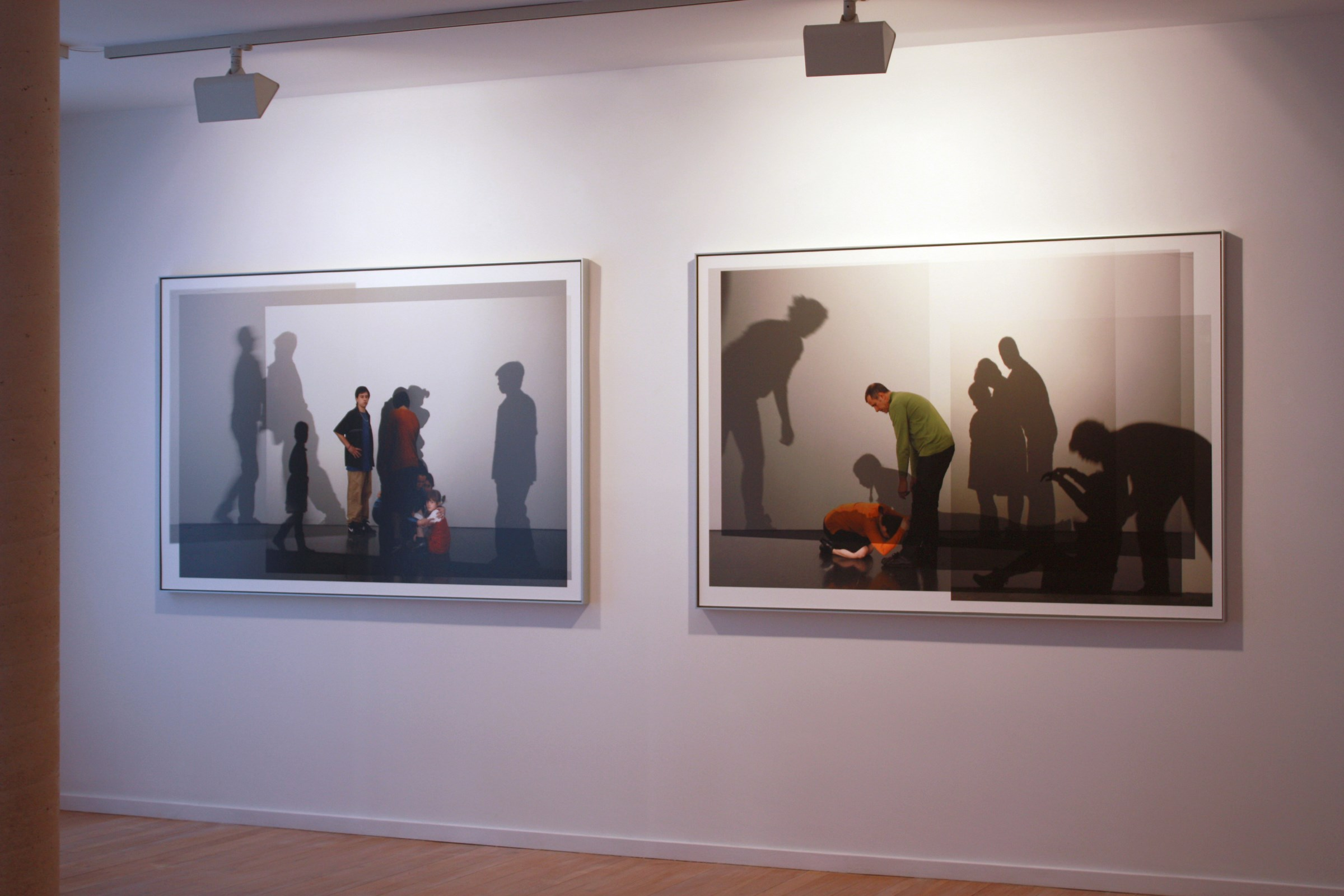 Exhibition view in the Galería Maior of Pollença, 2013