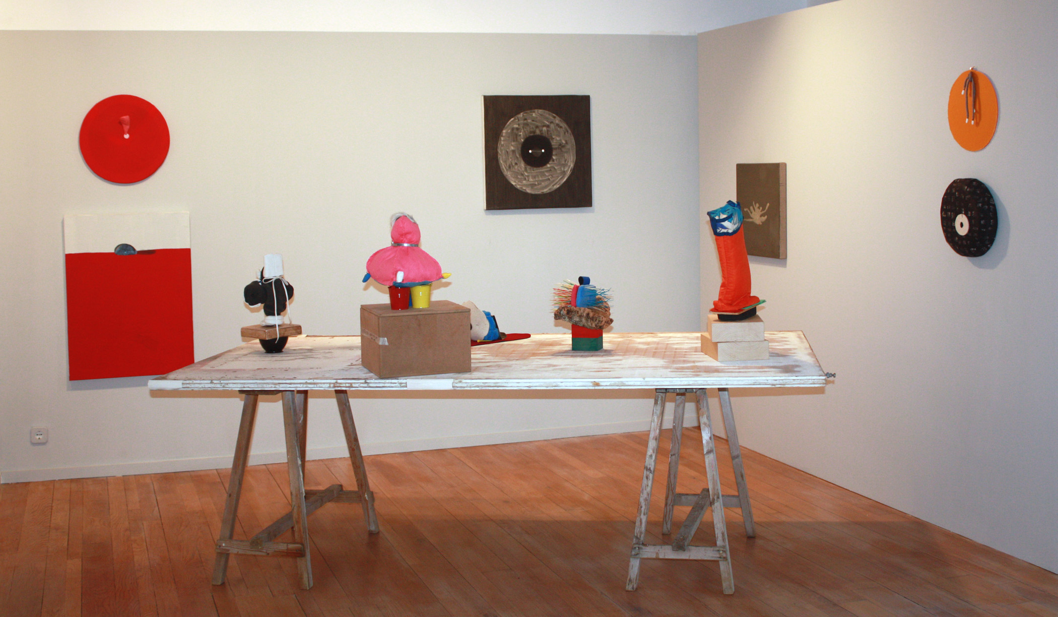 Vista de la exposición en la Galería Maior de Pollença, 2012