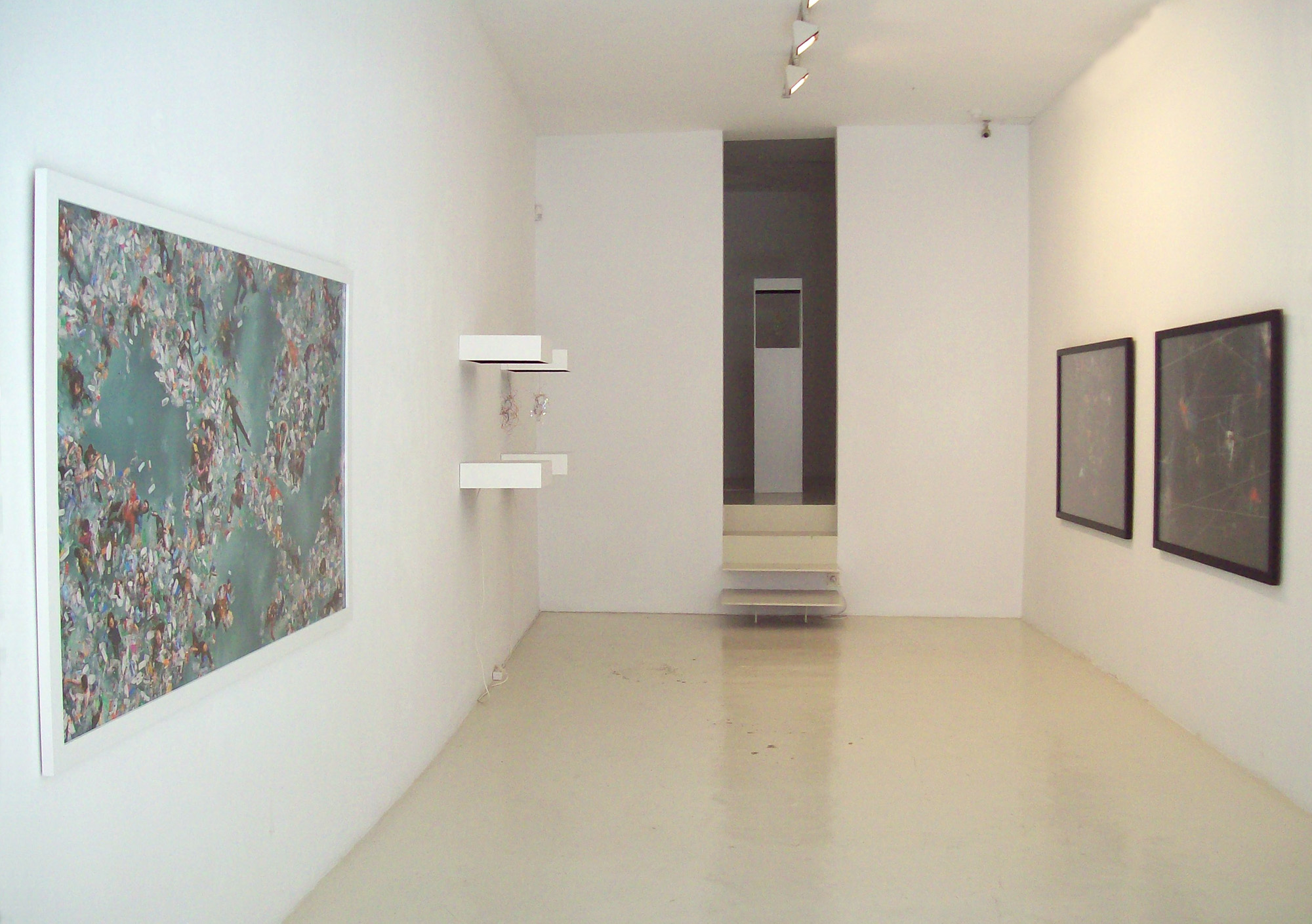 Vista de la exposición en la Galería Maior de Palma, 2011