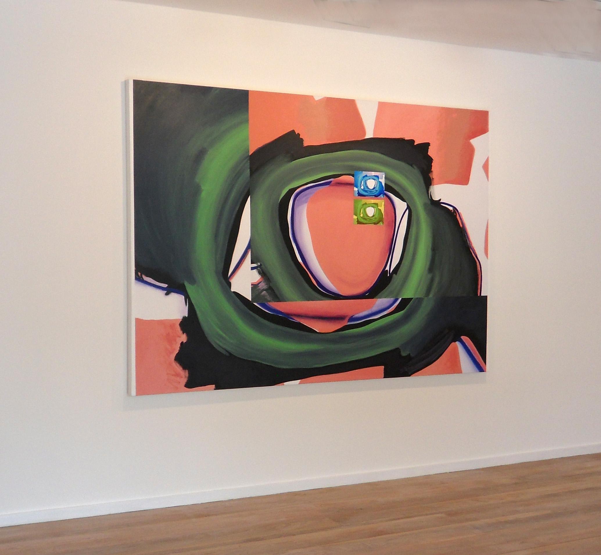 Procreación retiniana, 2008, óleo sobre lienzo, 155 x 220 cm.