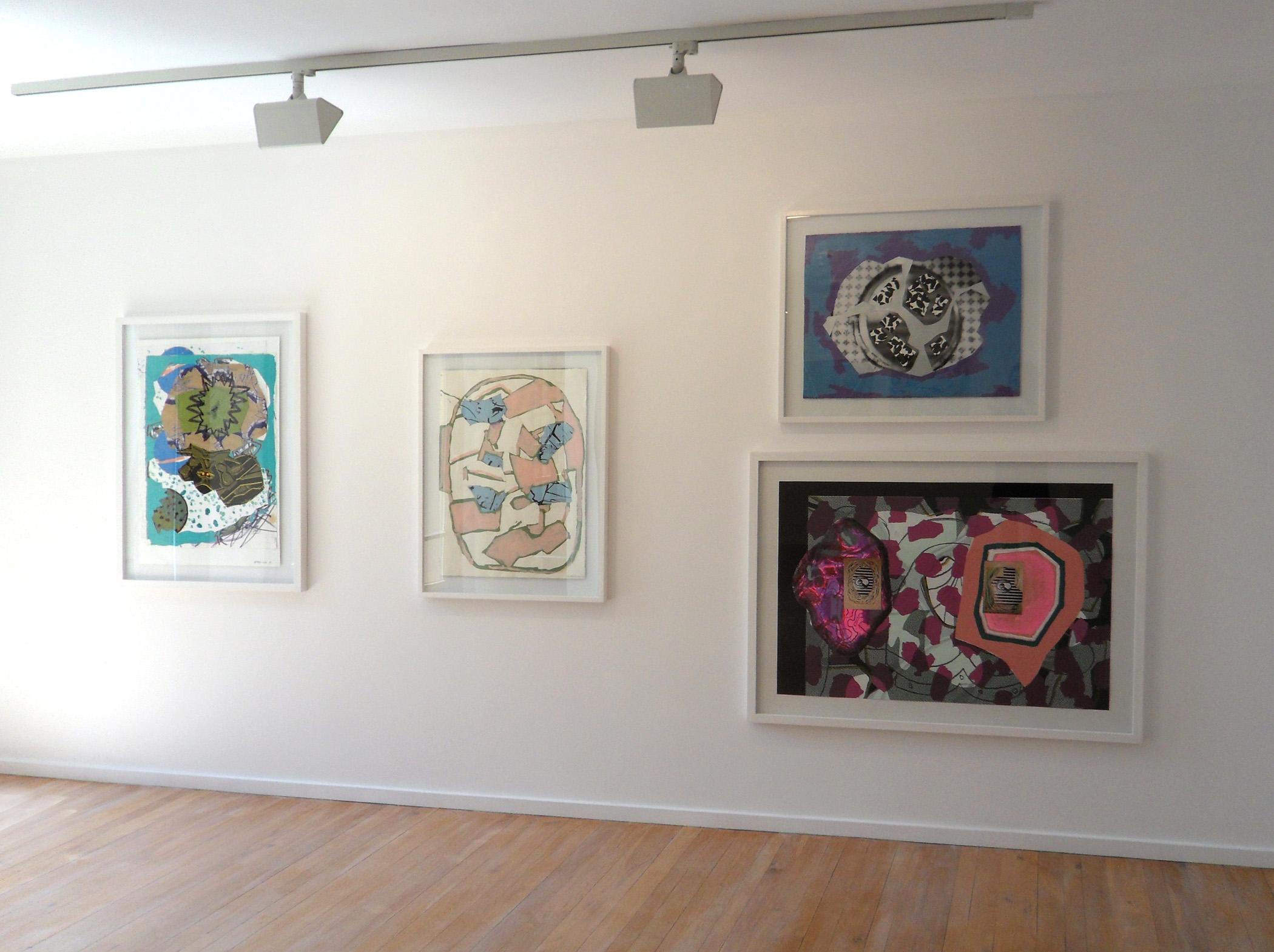 Vista de la exposición en la Galería Maior de Pollença, 2011