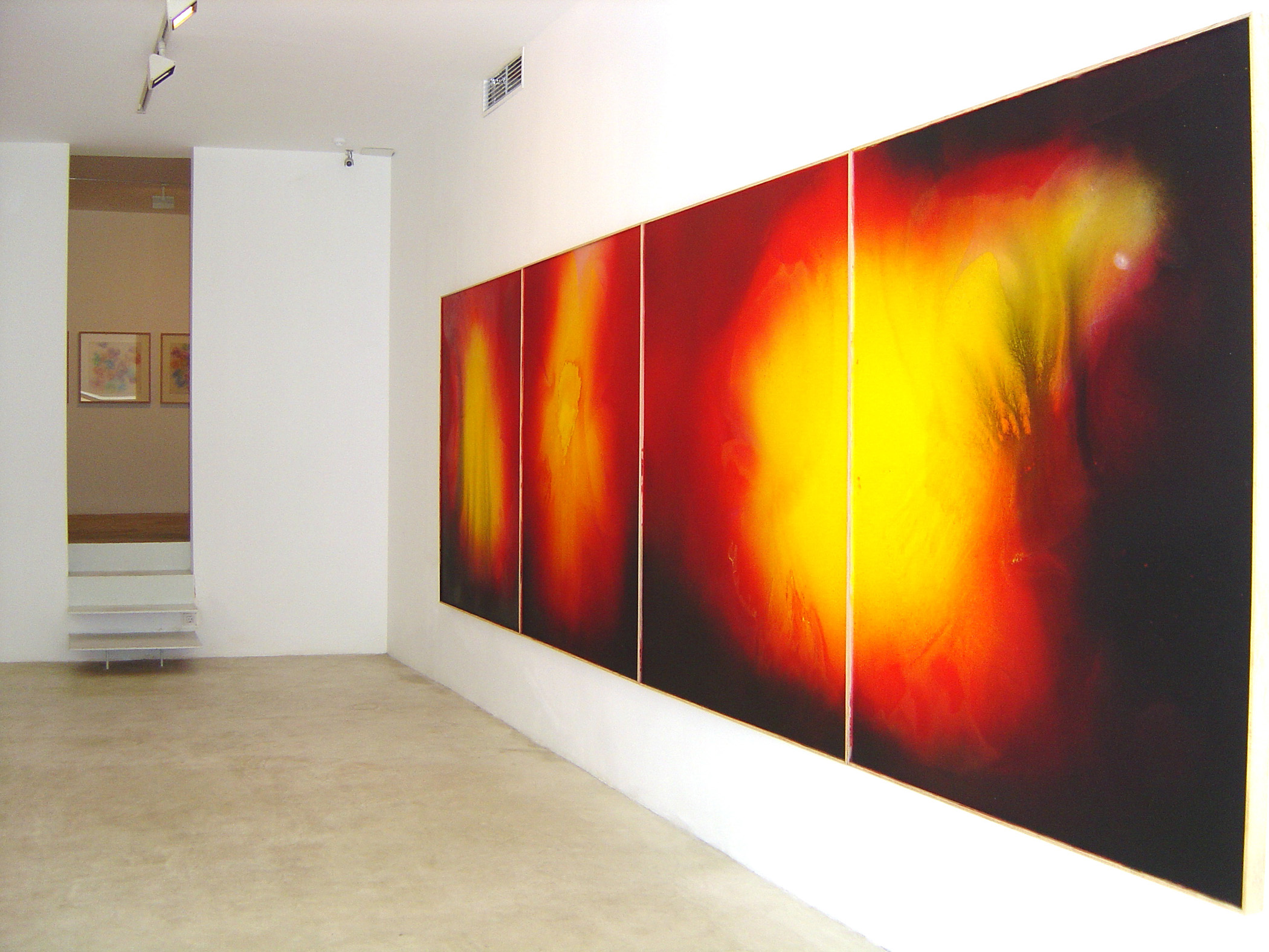 Exhibition view from Jose Maria Sicilia, 2004