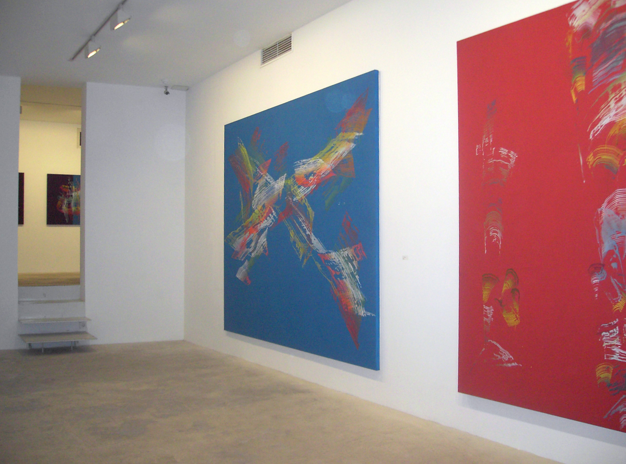 Exhibition view from Broto, 2005