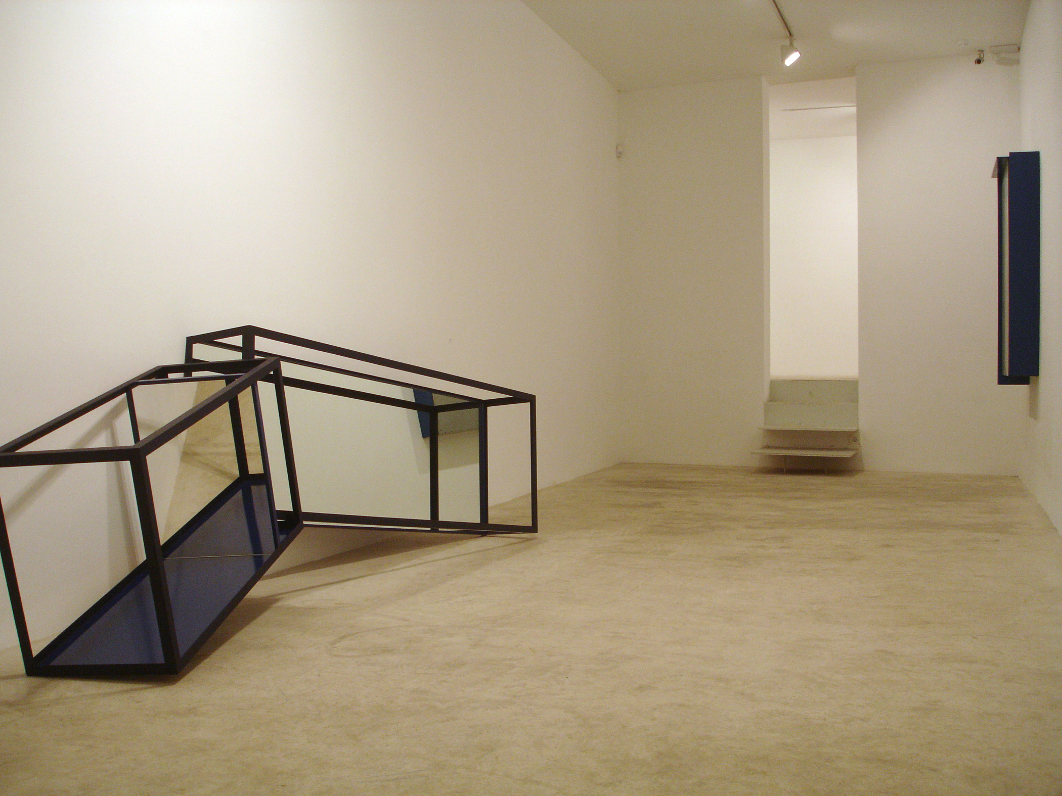 Exhibition view from Jose Pedro Croft, 2005