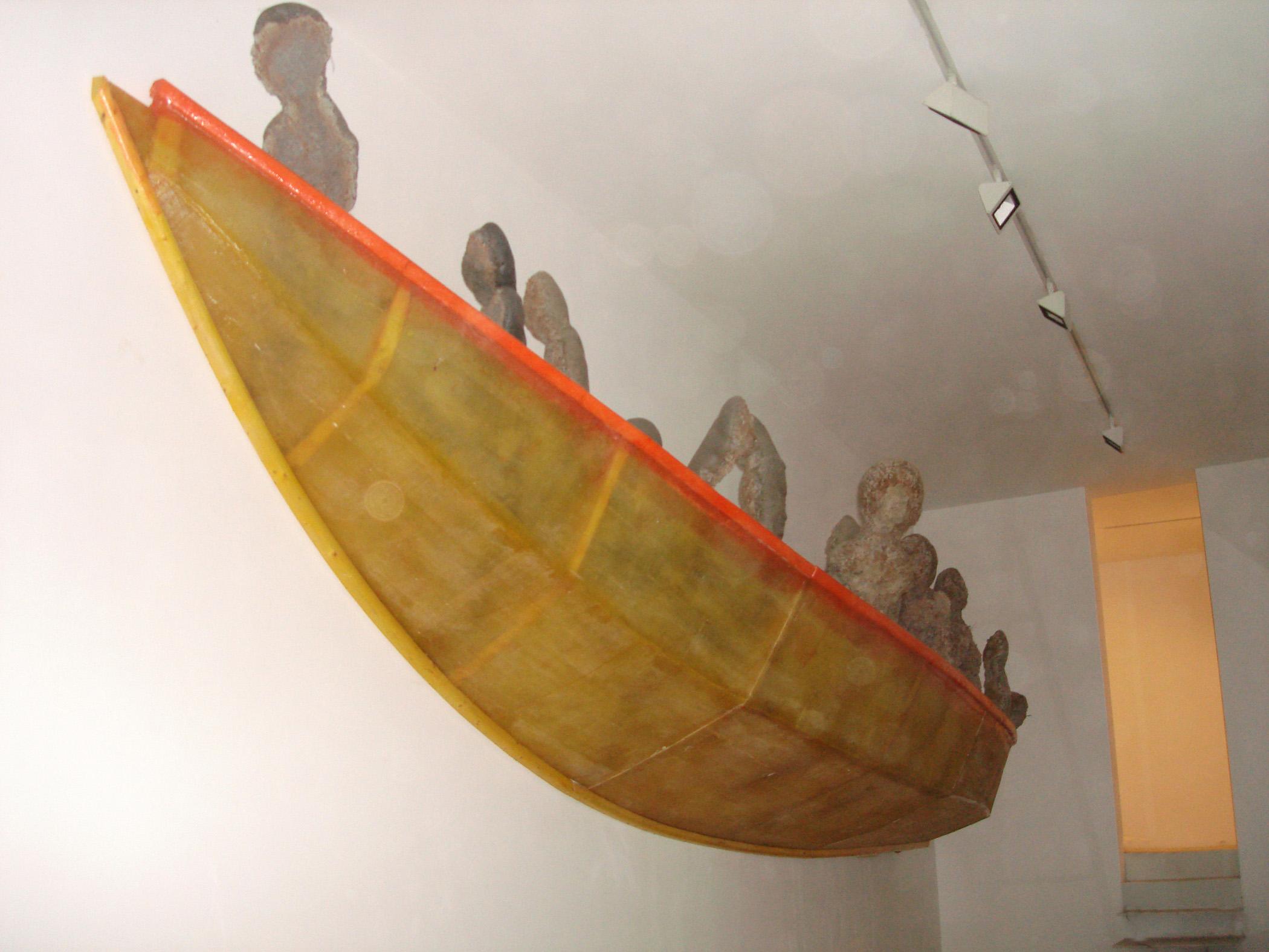 Vista de la exposición de Amador, 2006