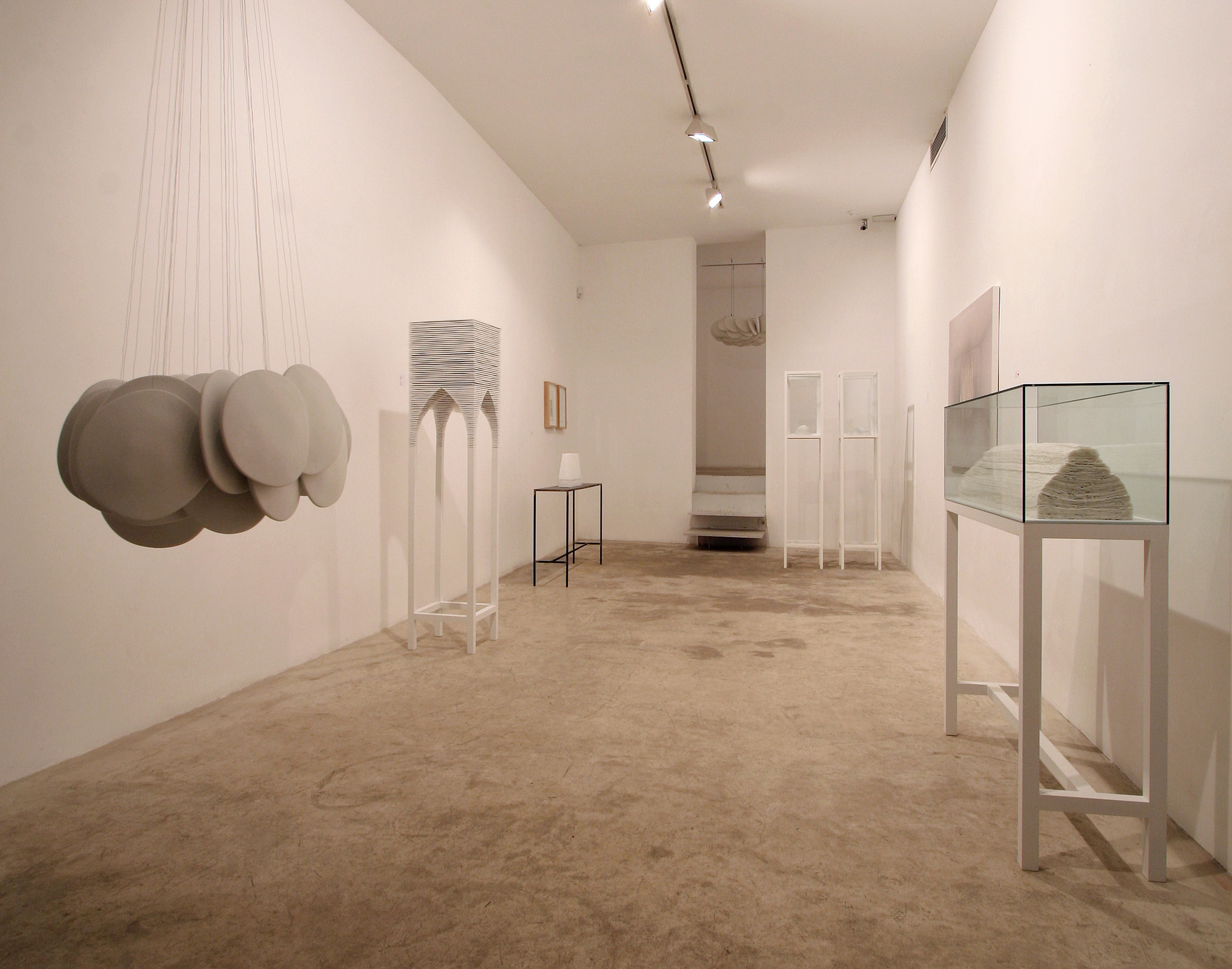 Vista de la exposición de Joan Cortes, 2006