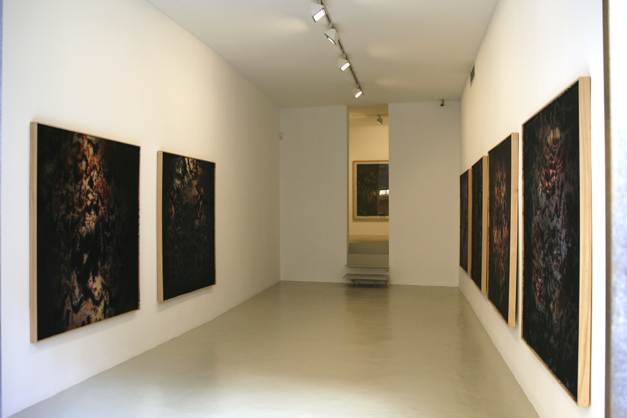Exhibition view from Jose Maria Sicilia, 2007