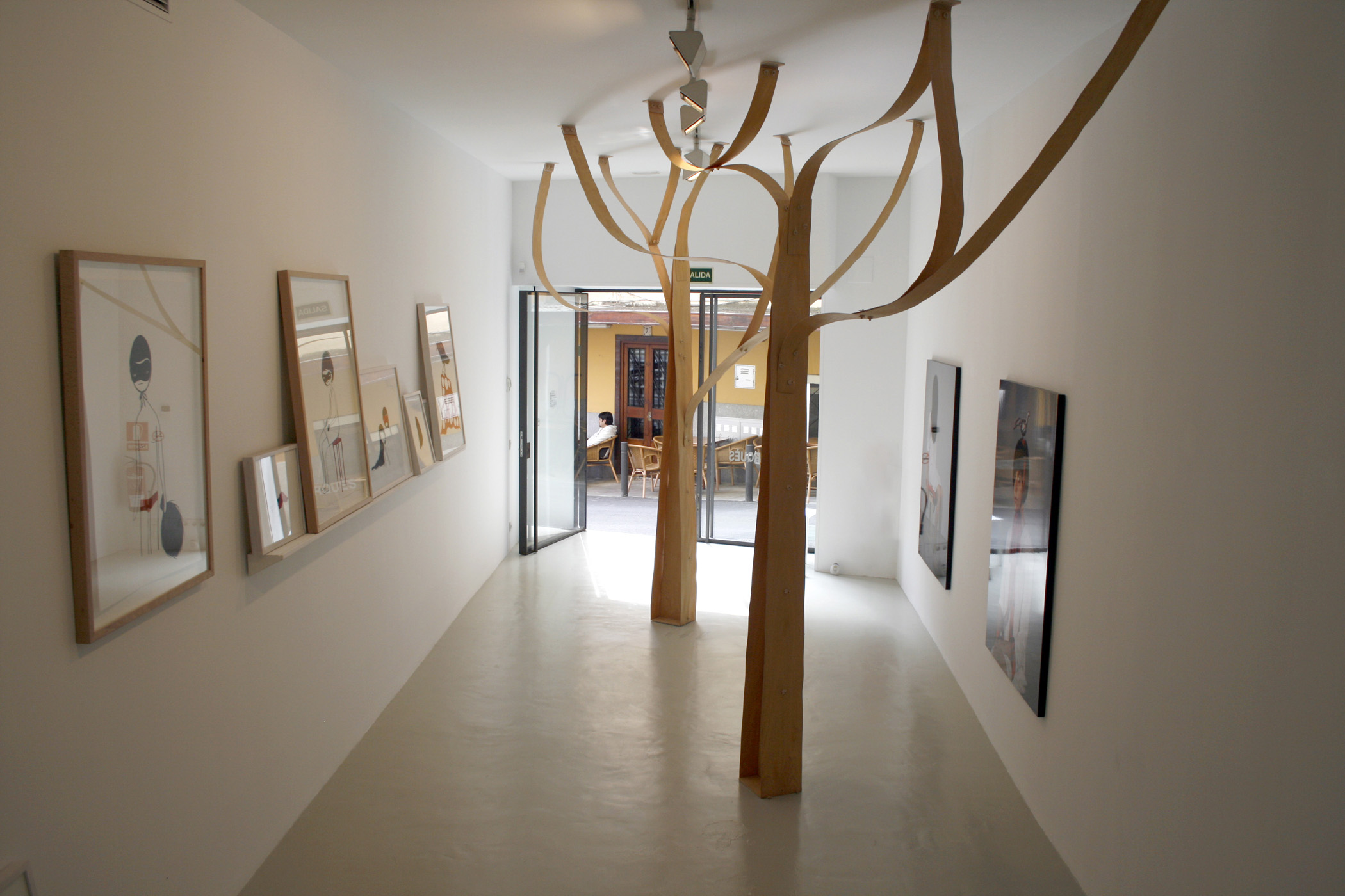 Exhibition view from Núria Marquès, 2008