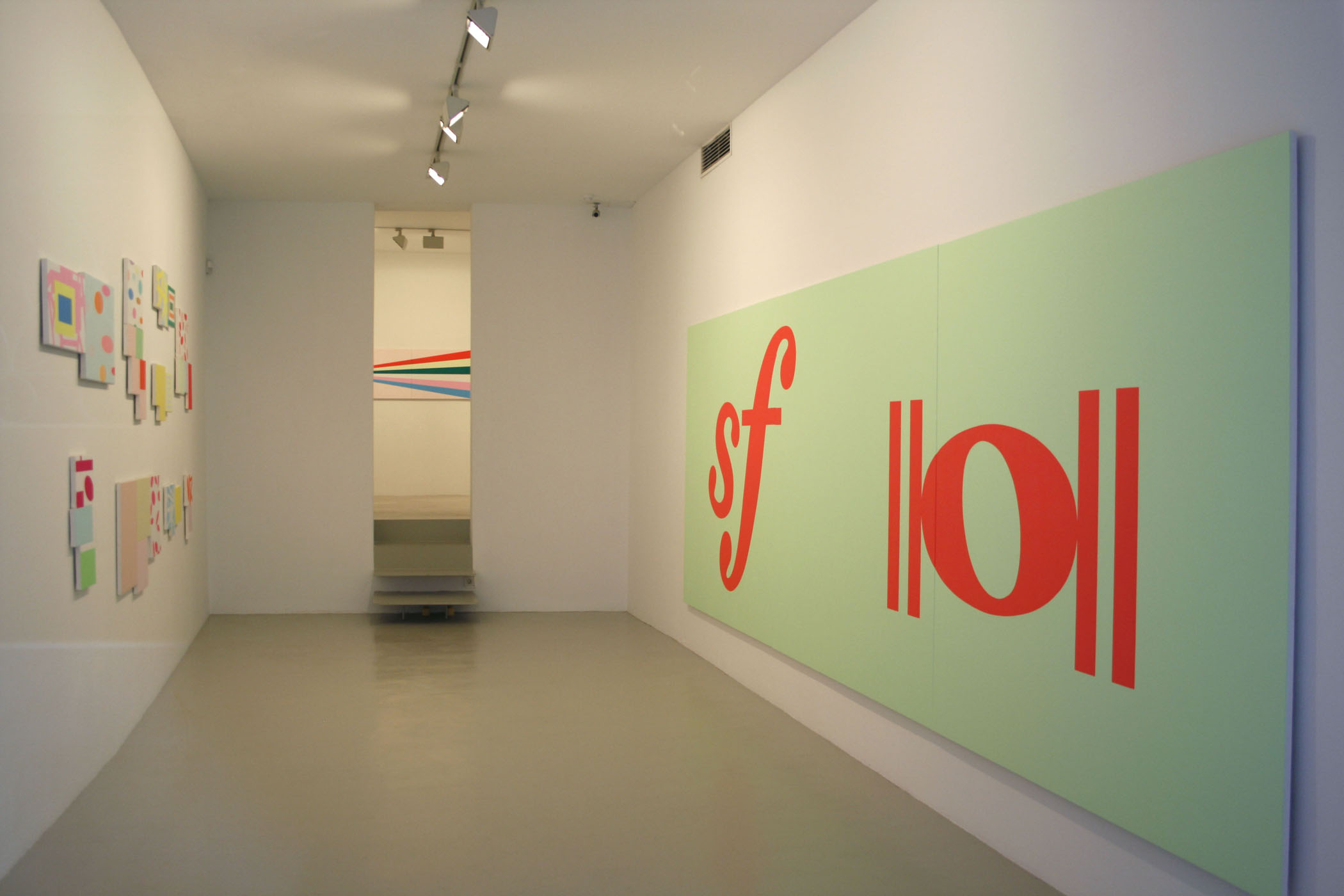 Exhibition view from Mitsuo Miura, 2008