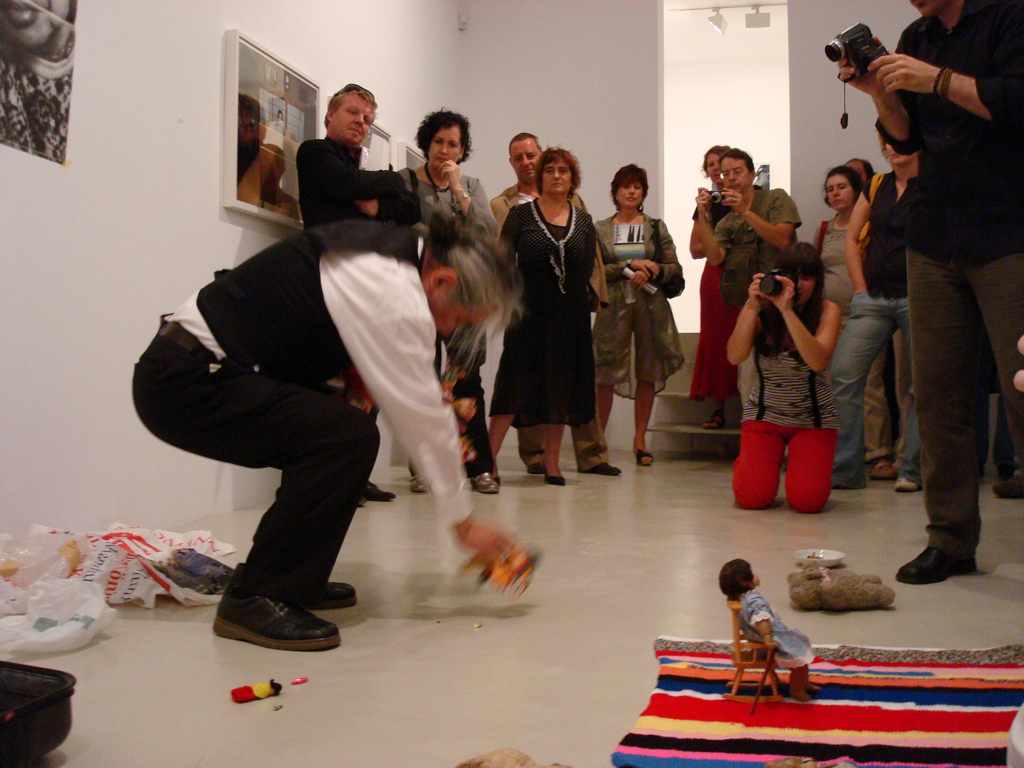 Performance view from Tatsumi Orimoto, 2008