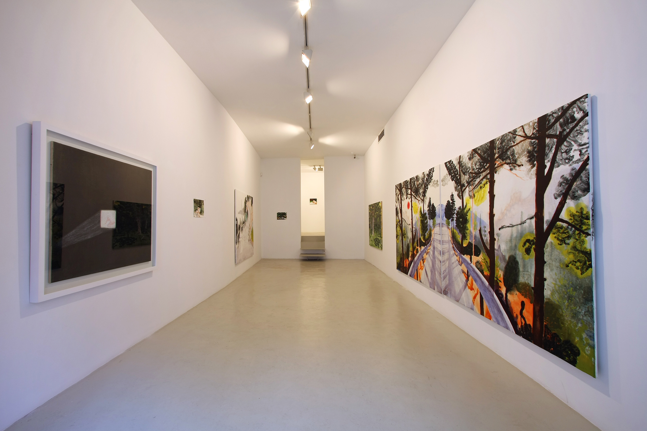 Exhibition view from Nicholas Woods, 2008
