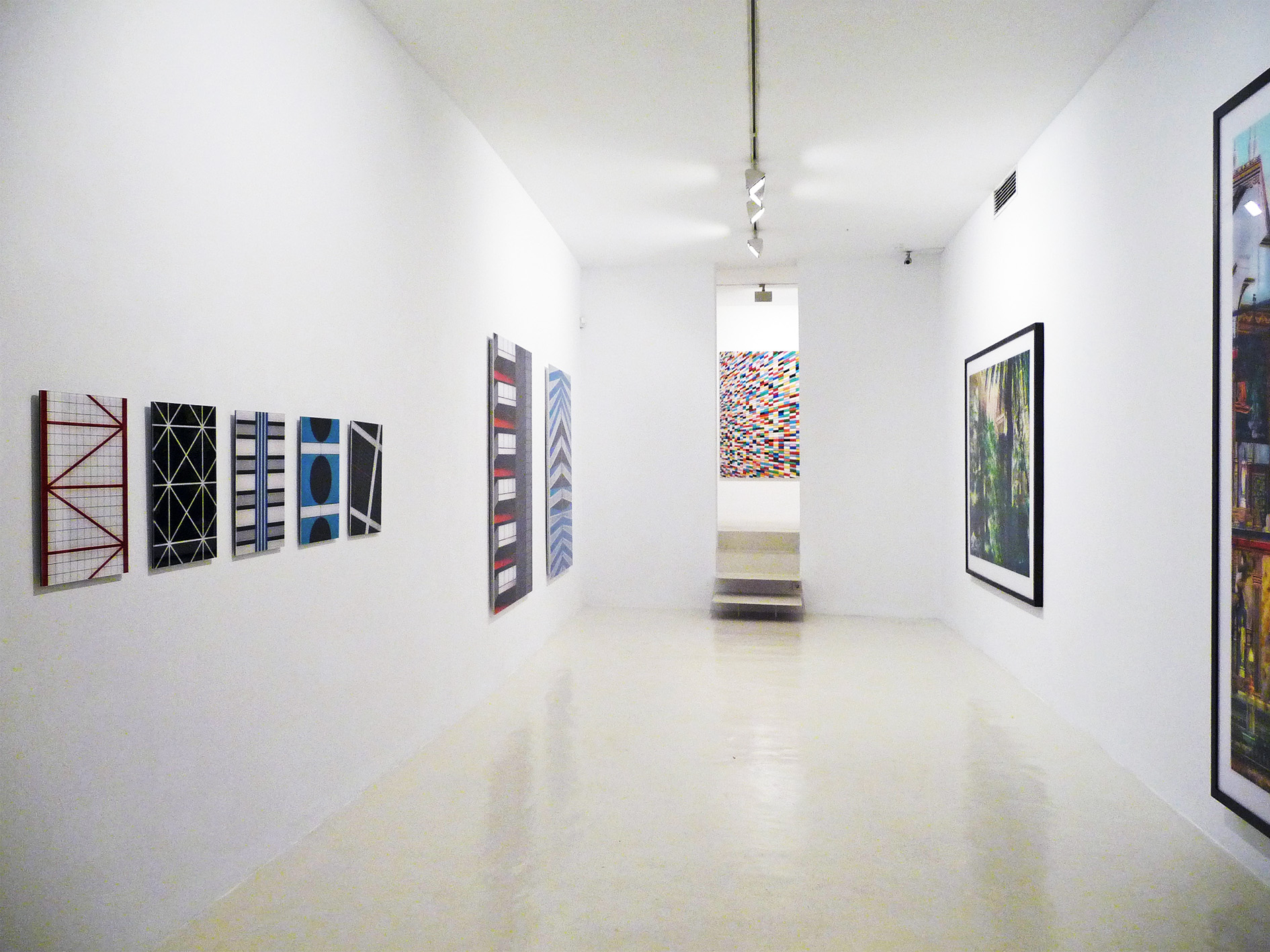 Exhibition view from Roland Fischer, 2009
