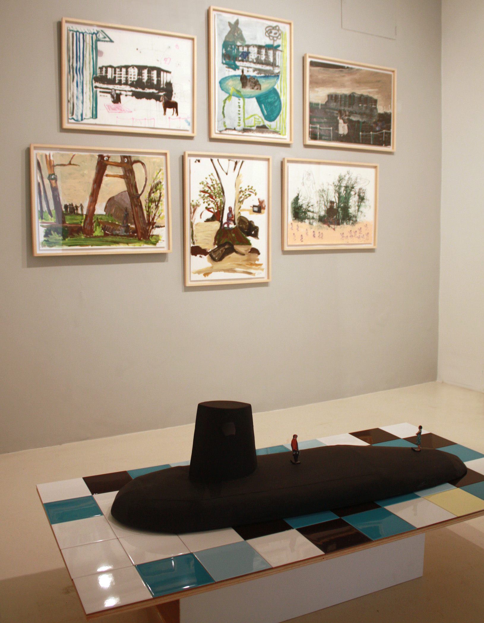 Exhibition view from Juan Ugalde, 2012