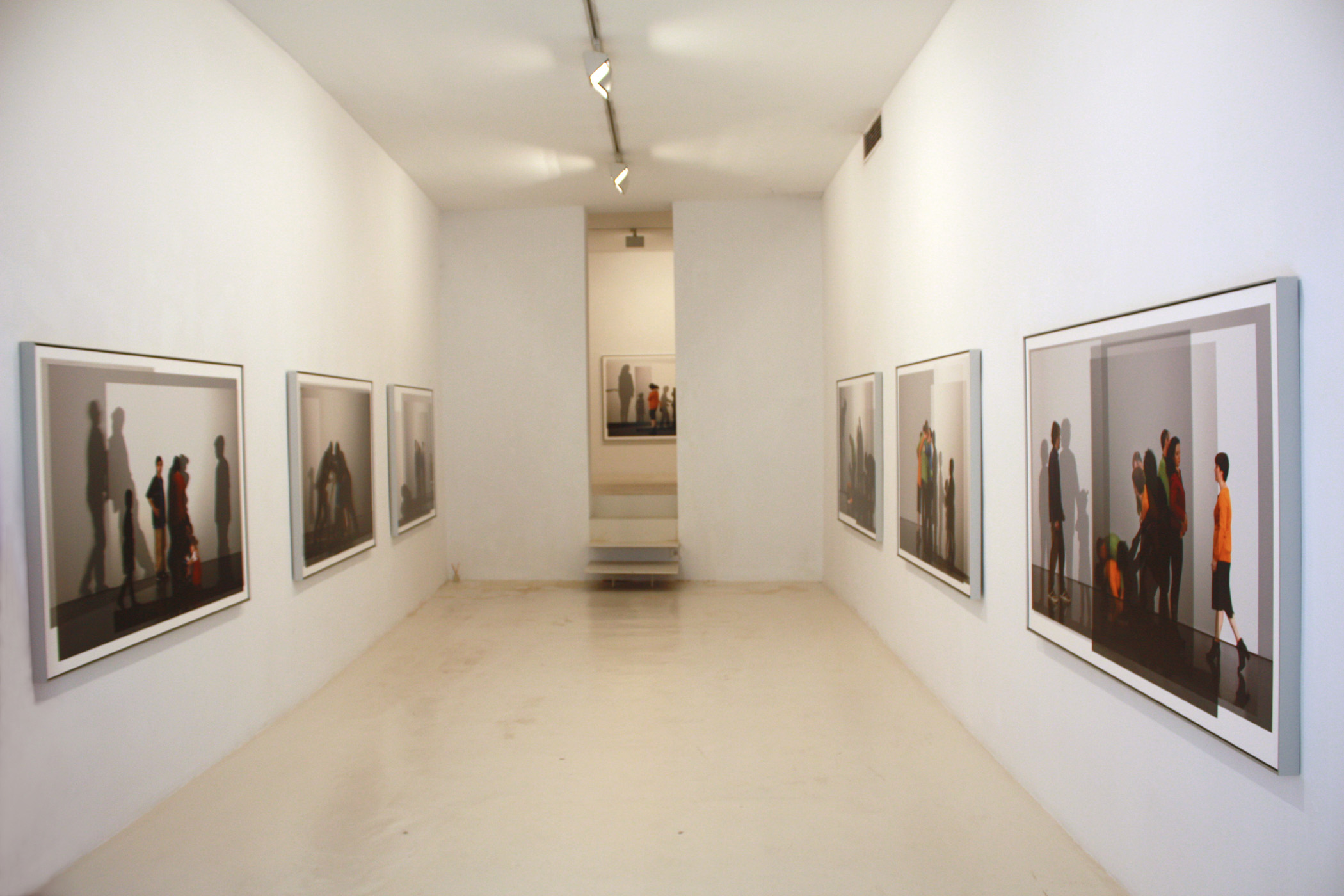 Exhibition view from Eulalia Valldosera, 2011