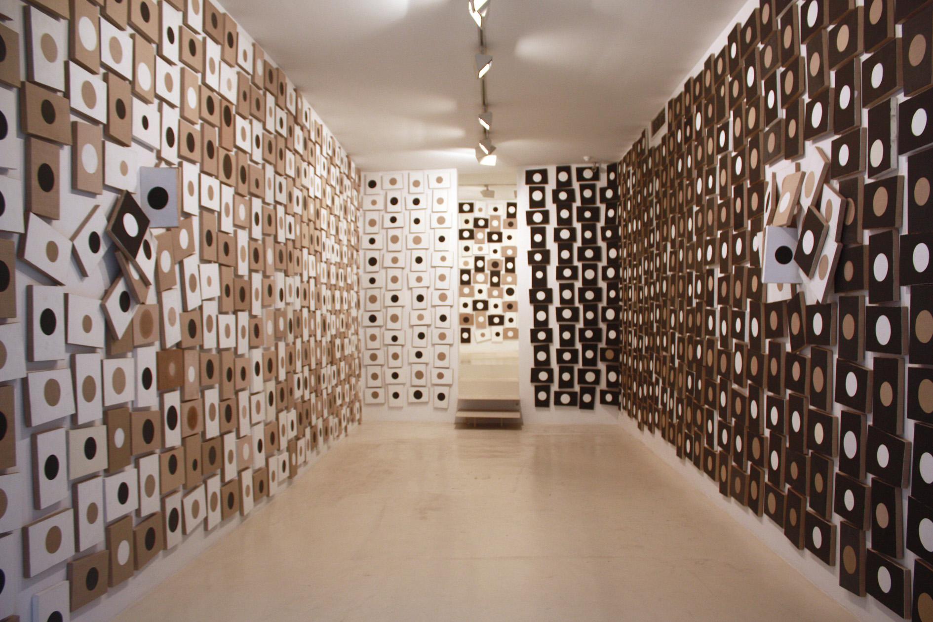 Vista de la exposición de Campano, 2014