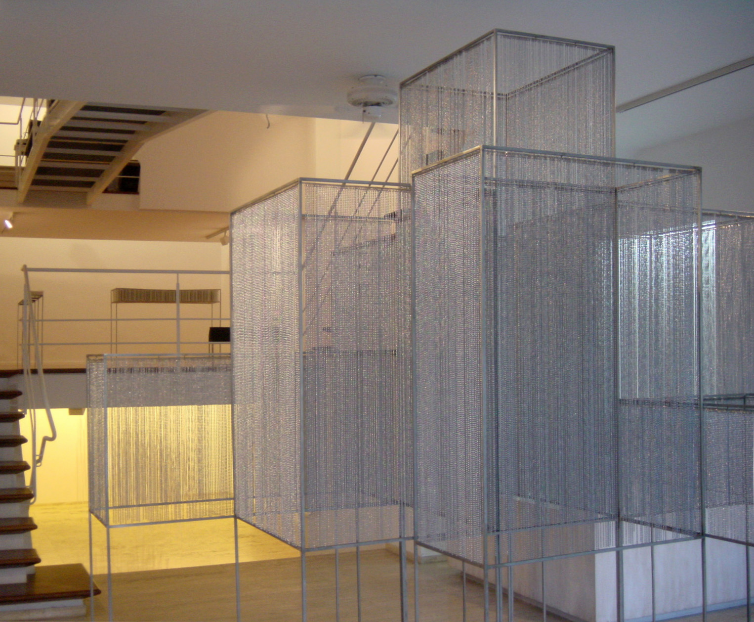 Exhibition view in the Galería Maior of Pollença, 2004