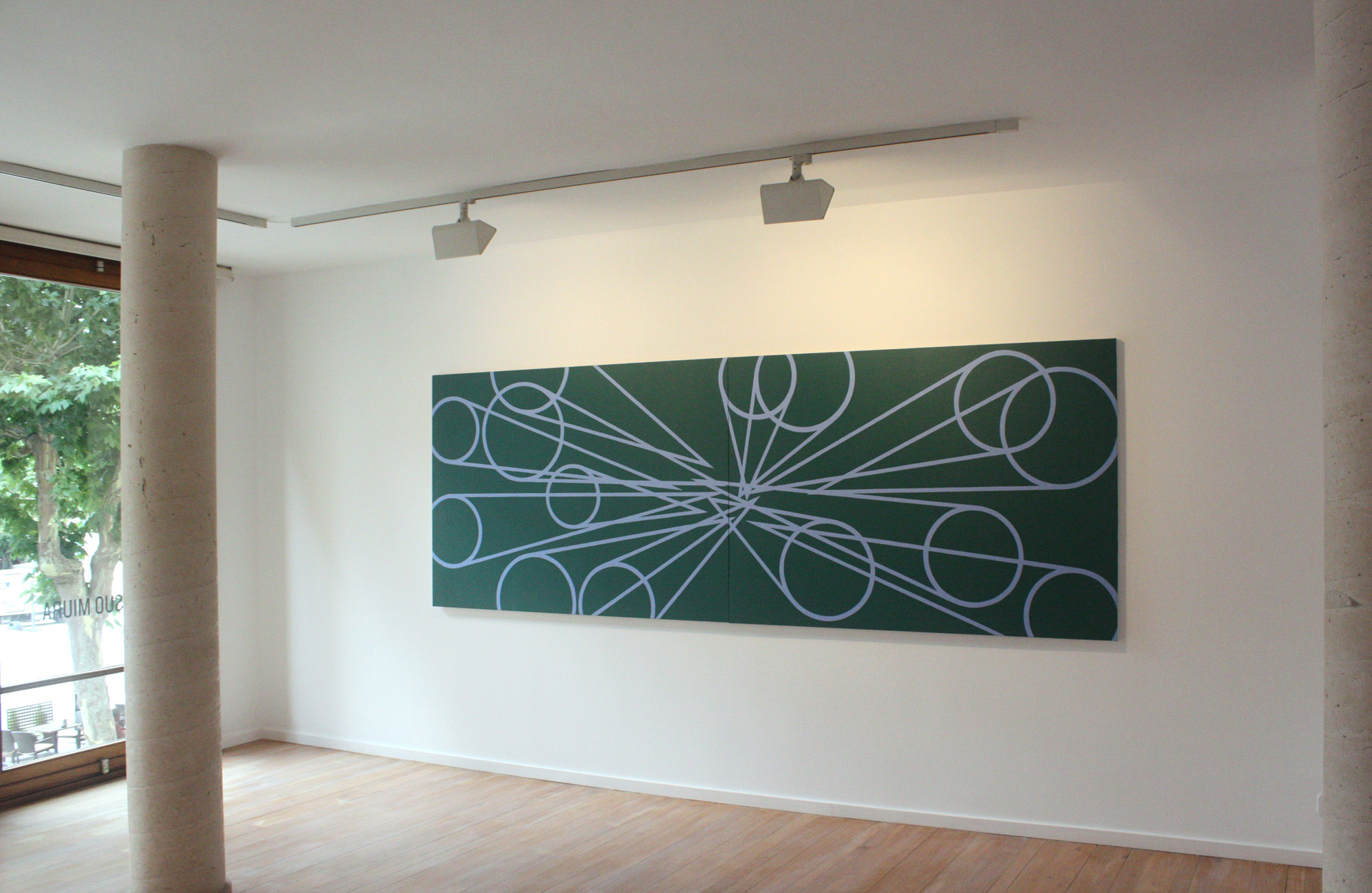 Exhibition view Memorias Imaginads in the Galeria Maior Pollença, 2015