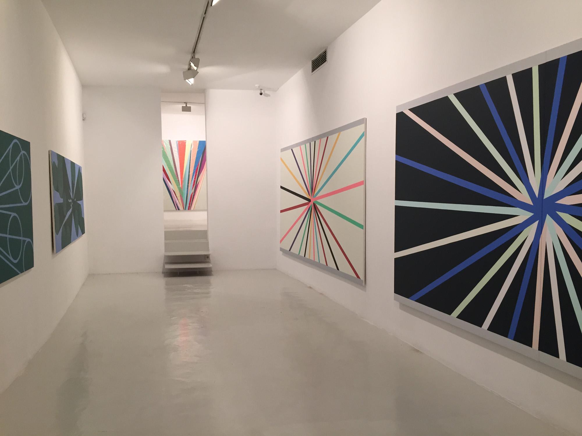 Exhibition view Memorias Imaginadas in the Galeria Maior Palma, 2016