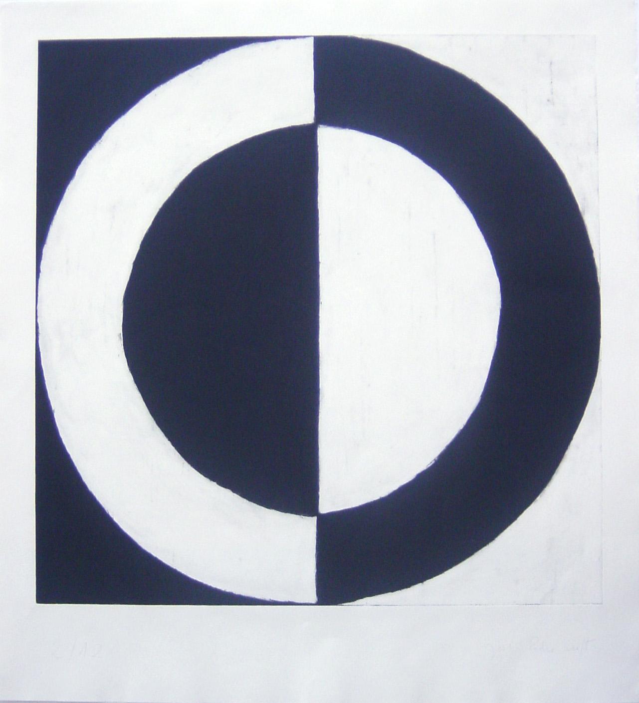 Untitled, (ed.12), 1997, etching, 124 x 112,5 cm.