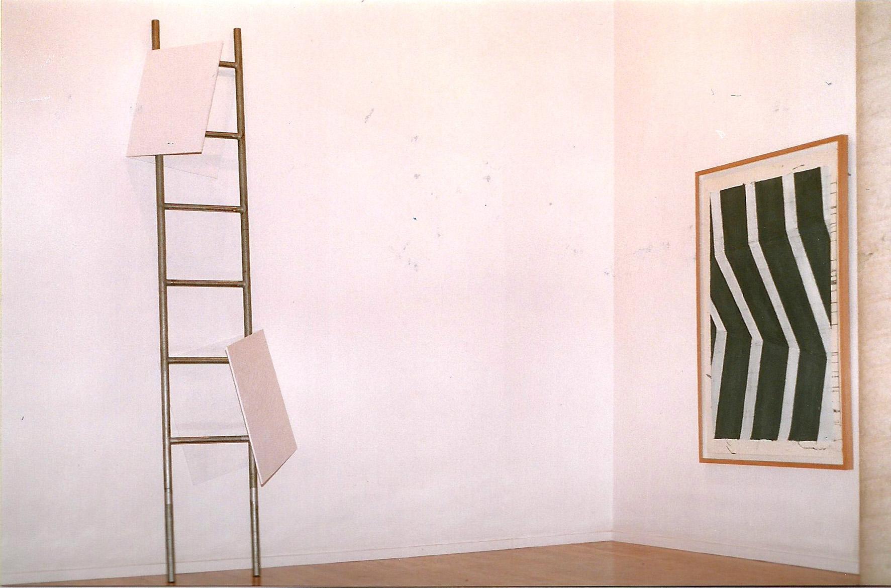 Vista de la exposición en la Galeria Maior de Pollença, 1997